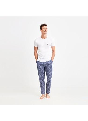 Nautica M146PANT.LACI Nautıca Erkek Lacivert Desenli Pijama Altı Lacivert